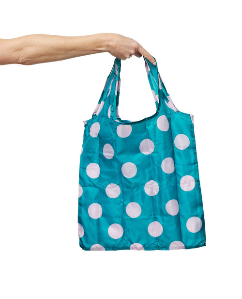 PROJECT TEN - Pocket Shopper in Polka Dot