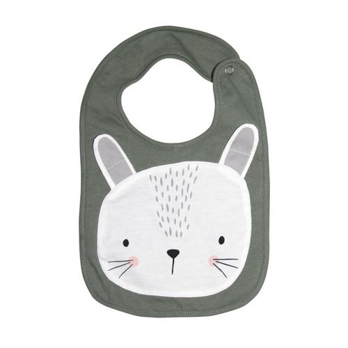 MISTER FLY KIDS - Sage Bunny Face Bib