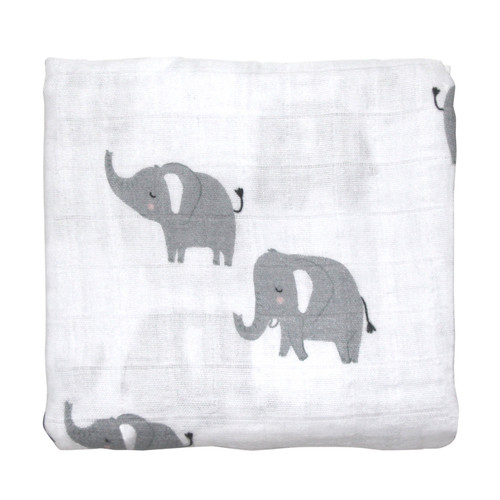 MISTER FLY - Elephant Muslin Wrap / Swaddle