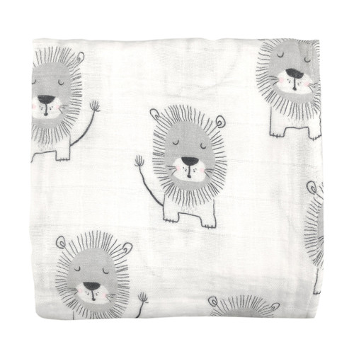 MISTER FLY - Lion Muslin Wrap / Swaddle