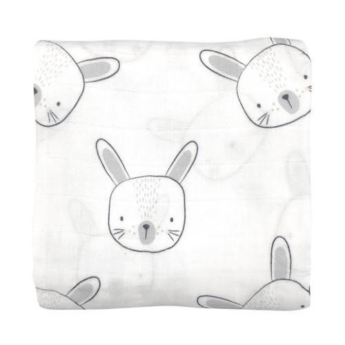 MISTER FLY - Bunny Muslin Wrap / Swaddle