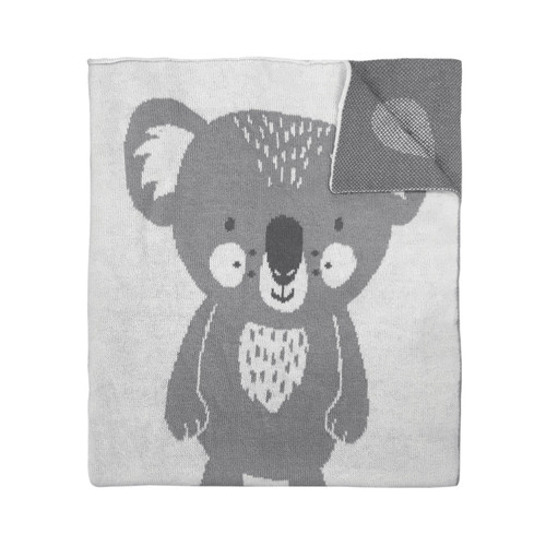 MISTER FLY - Koala Knitted Blanket