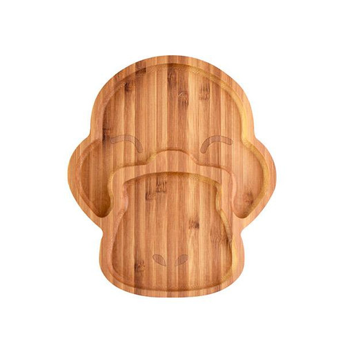 EMONDO KIDS - Puddle the Platypus Bamboo Plate