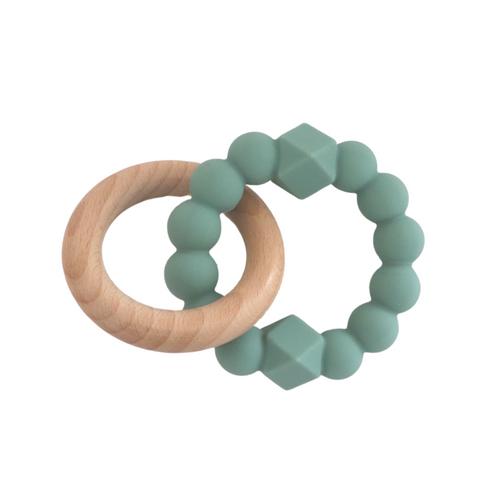 JELLYSTONE - Sage Moon Teething Ring