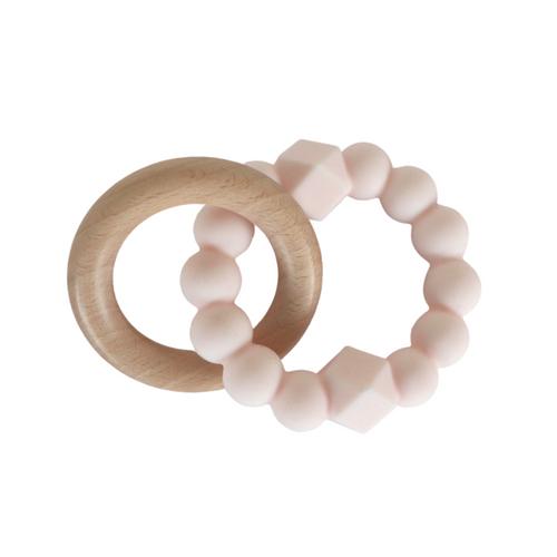 JELLYSTONE - Blush Moon Teething Ring