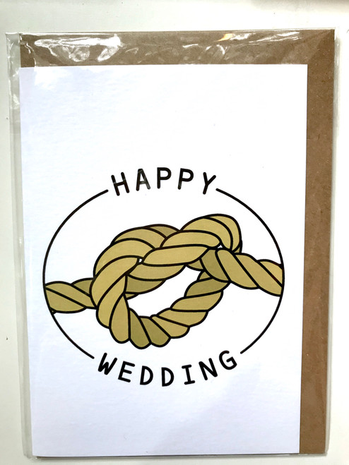 THINGS BY BEAN - Happy Wedding Greeting Card