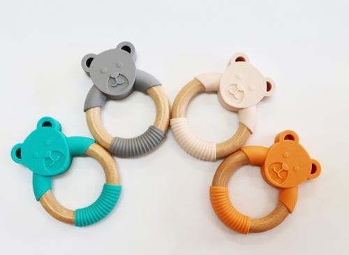 JELLYSTONE - Jellies Little Bear Teething Toy - Grey