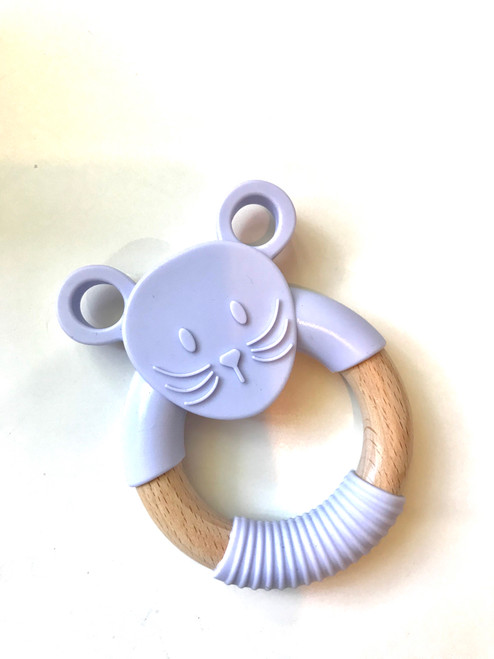 JELLYSTONE - Jellies Little Mouse Teething Toy - Lavender