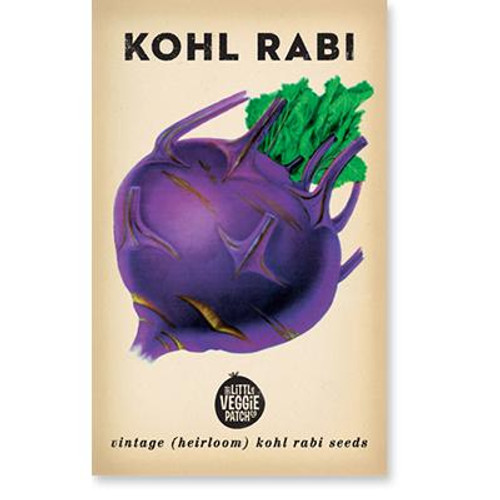 LITTLE VEGGIE PATCH CO. - Kohl Rabi 'Purple' Seeds