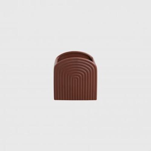 POTTED - Small Gatsby Planter Brick
