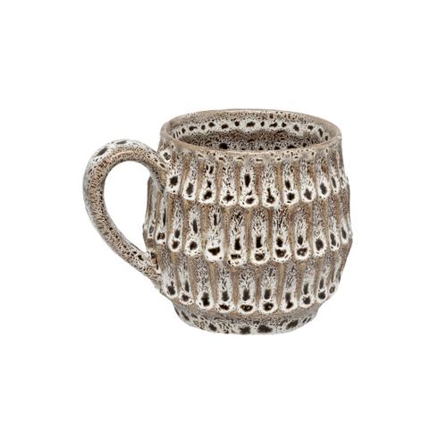 ZEST - Osmond Mug Brown Reactive Glaze
