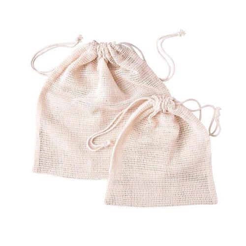ZEST - Reusable Organic Cotton Produce Bags - Set of 6