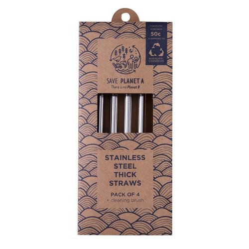 ZEST - Smoothie Drinking Straws 4pk