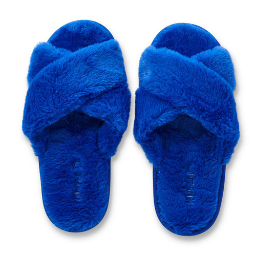 KIP & CO - Dazzling Blue Adult Slippers