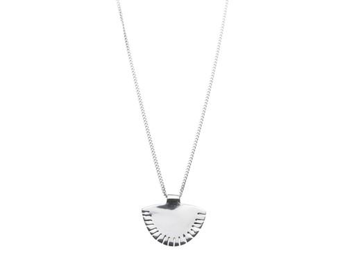 SHABANA JACOBSON - Sunset Necklace - Silver