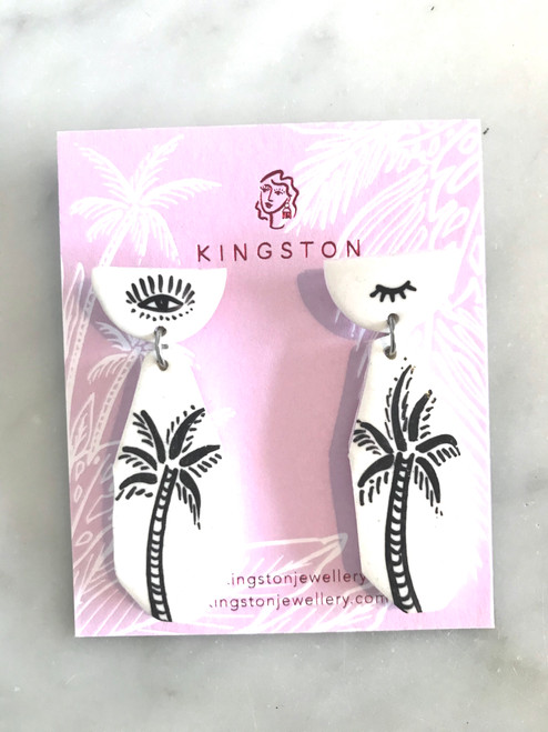 KINGSTON JEWELLERY - Hand Painted Blink Palm