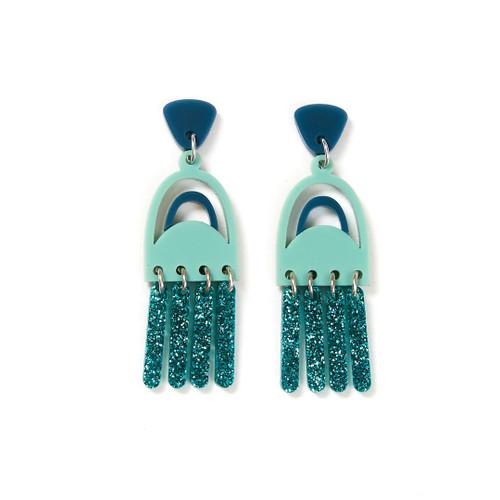MARTHA JEAN - Breeze Earrings - Sage