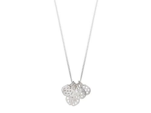 SHABANA JACOBSON - Honeycomb Necklace - Silver