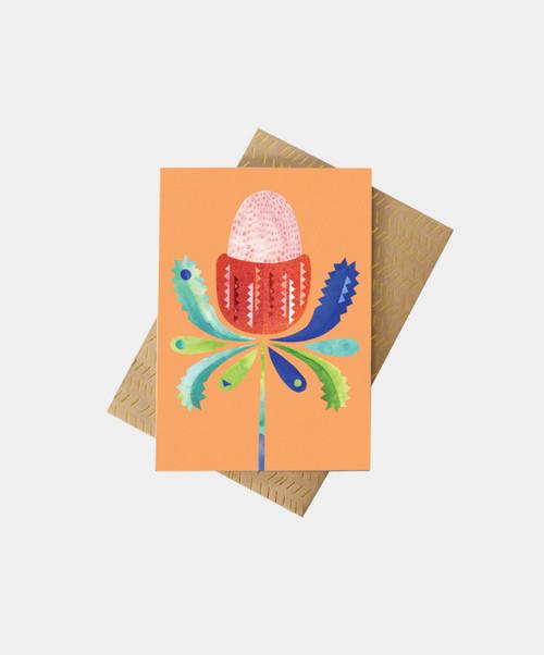 PETE CROMER - Banksia Greeting Card
