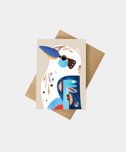 PETE CROMER - Kookaburra Greeting Card