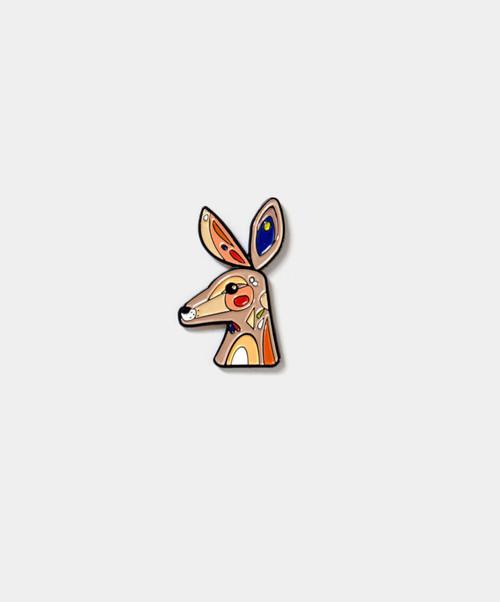 PETE CROMER - Kangaroo Enamel Pin