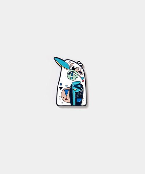 PETE CROMER - Kookaburra Enamel Pin