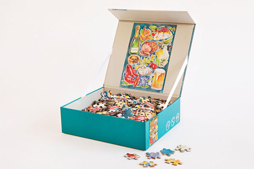 JOURNEY OF SOMETHING - 1000 Piece Puzzle - Pavlova & Prawns