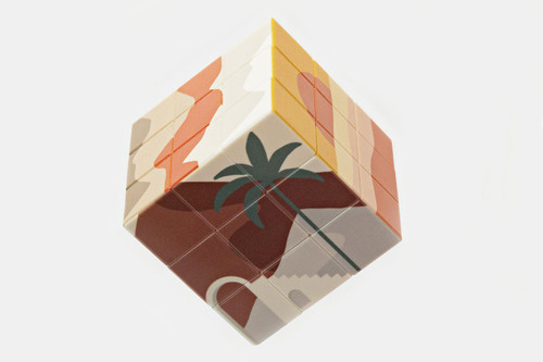 JOURNEY OF SOMETHING - ART CUBE - DESERT