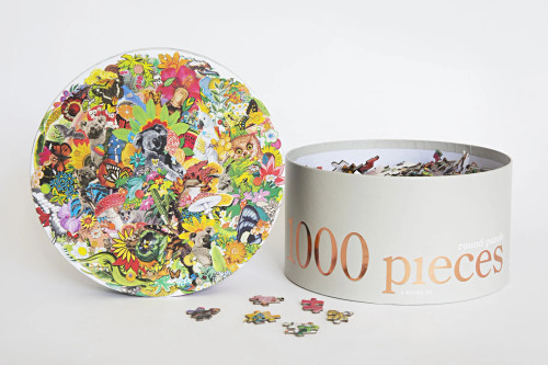 JOURNEY OF SOMETHING - 1000 PIECE PUZZLE (ROUND) - ALL AROUND OZ