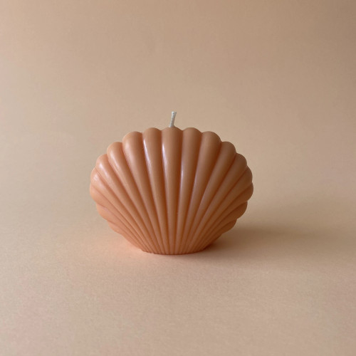 MANARA HOME - CANDLE - ORANGE CLAM SHELL