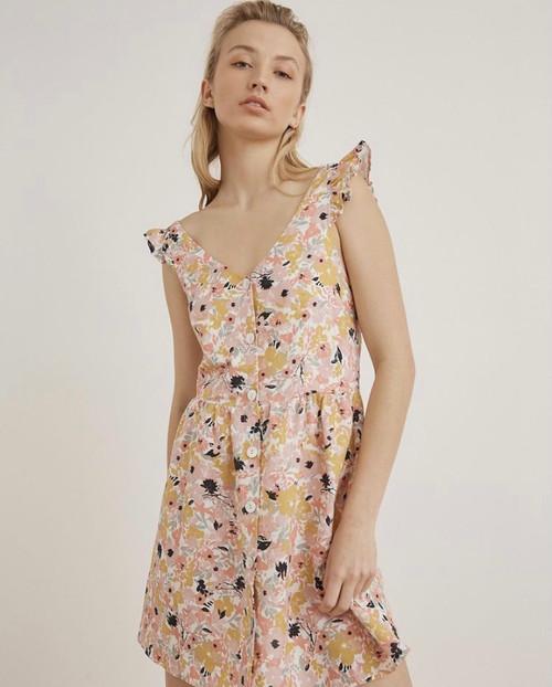 LITTLE LIES - Autumn Bloom Dress