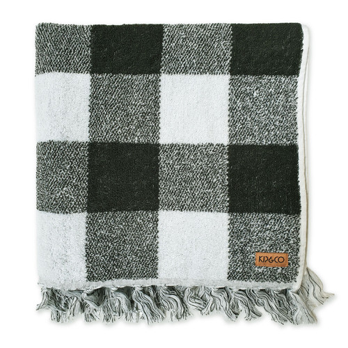 KIP & CO - Ivy Tartan Bath Towel