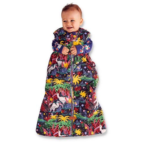 KIP & CO - Swamp Sleep Bag - 2.5 Tog 12-24Mths