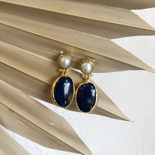 INARTISAN - Dione Double Drop Earrings