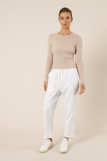 (LATE APRIL DELIVERY) NUDE LUCY - Nude Classic Knit in Oatmeal