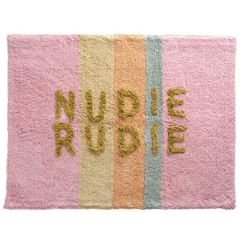 SAGE & CLARE - TULA BUBBLEGUM NUDIE RUDIE BATH MAT