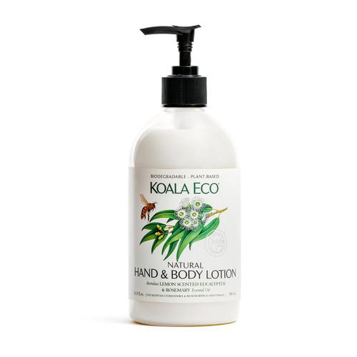 KOALA ECO -  Natural Hand and Body Lotion - Lemon Scented Tea Tree & Tea Tree