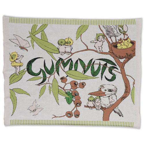 KIP & CO - May Gibbs Gumnut Knittted Cotton Blanket