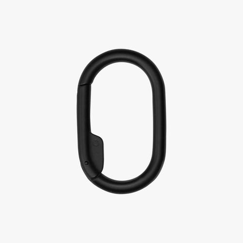 ORBIT KEY -Add on  Key Clip v2 - Black Carabiner