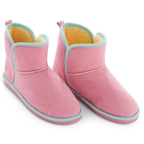 KIP & CO - Pinkie Sunshine Adult Sherpa Slippers