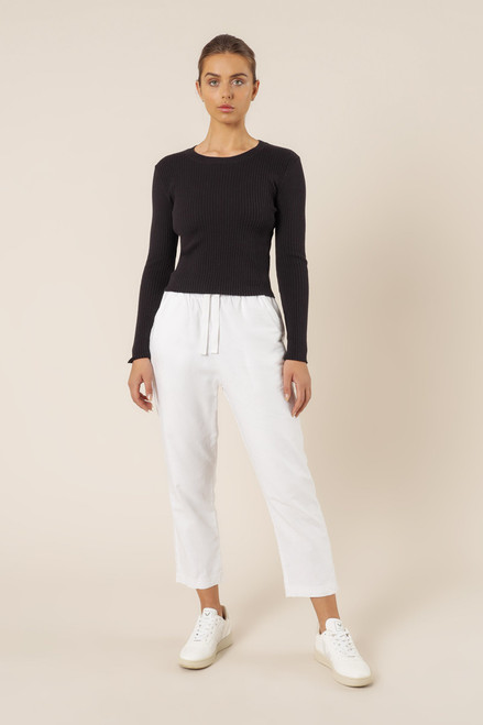 NUDE LUCY - Nude Classic Knit in Black