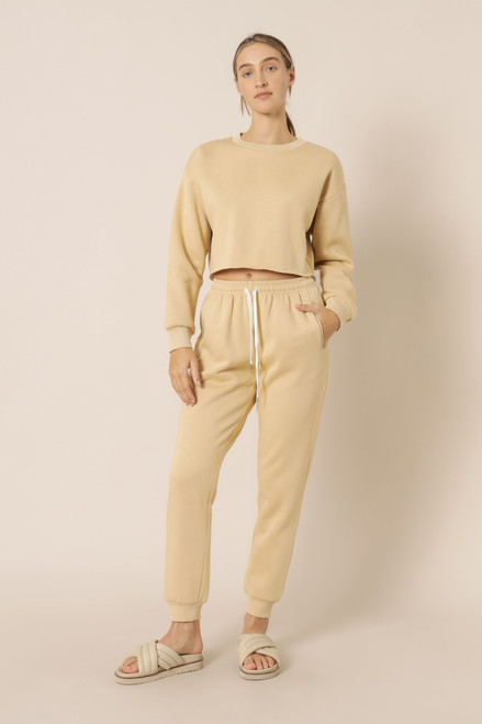 NUDE LUCY - Carter Classic Trackpant - Honey