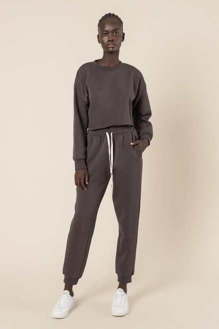 NUDE LUCY - Carter Classic Trackpant - Coal