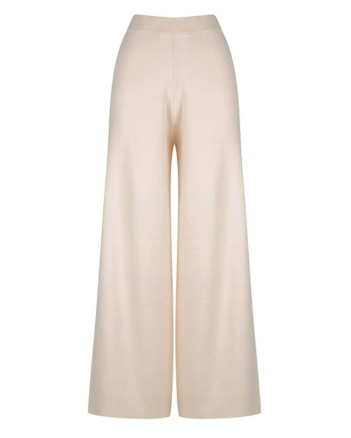 CHARLIE HOLIDAY - Jacques Knitted Pants in Nougat
