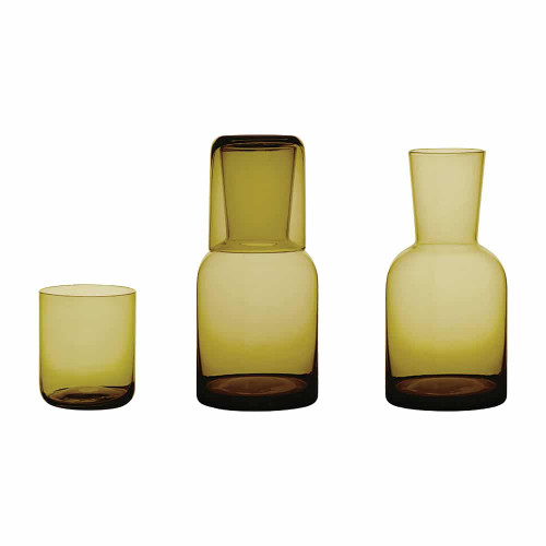 ANNABEL TRENDS - Water Carafe Set - Amber