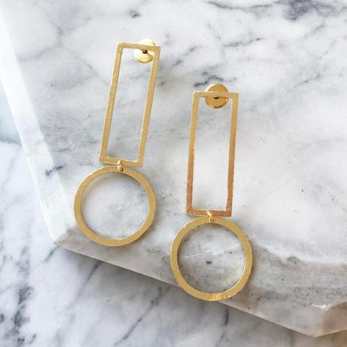 INARTISAN - Britt Earrings - Gold
