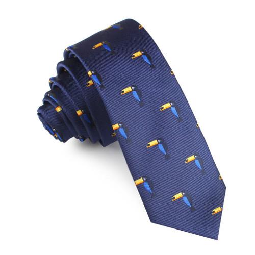 OTAA - Navy Blue with Toucan Tie