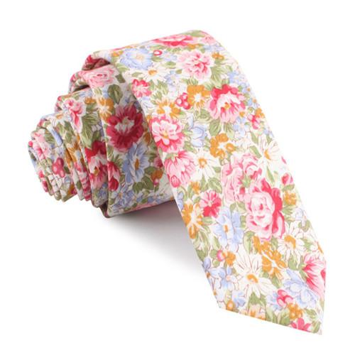 OTAA - Daisy Floral Cotton Tie