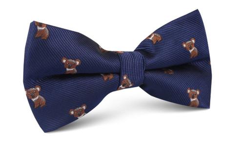 OTAA - Navy Blue with Koala Bow Tie