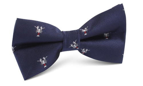 OTAA - Navy Blue with Lobster Bow Tie